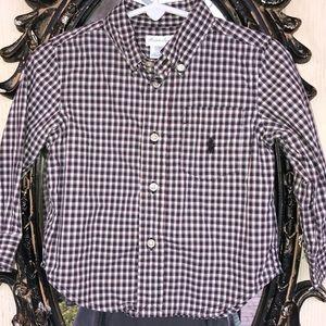🧸Ralph Lauren, boys,button down shirt